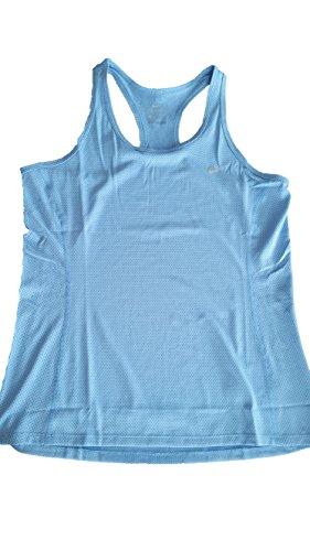 Nike Dri-Fit Contour Tank - ärmelloses Top Damen, Farbe Blau, Größe S