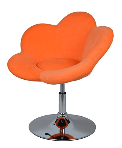 "Barhocker ""orange Blume"" in Blumenform Lounge Sessel Barsessel Clubsessel Cocktailsessel Drehsessel - 7"