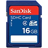 SanDisk SDSDB-016G-B35 16 GB SDHC Class 4 Memory Card - Blue (Label May Change)