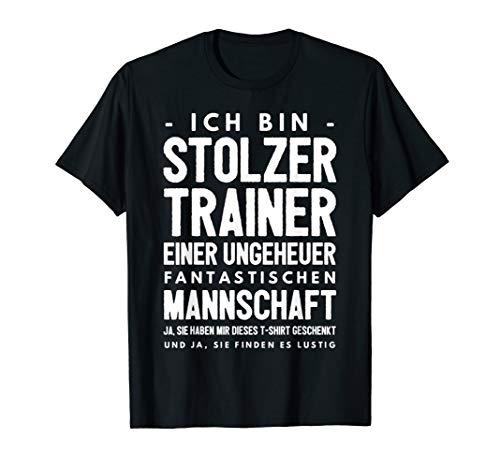 Lustiges Trainer Geschenk T-Shirt   Coach Sportlehrer Shirt (Volleyball-shirts Für Die Trainer)