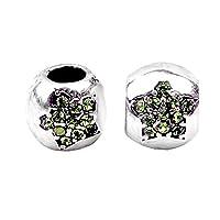Bling Stars Christmas Charm Swarovski Elements Crystal Star Sale Beads Fit Pandora Charms Bracelets
