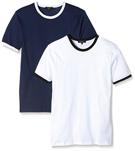 New Look, T-Shirt Uomo Blu (Navy)