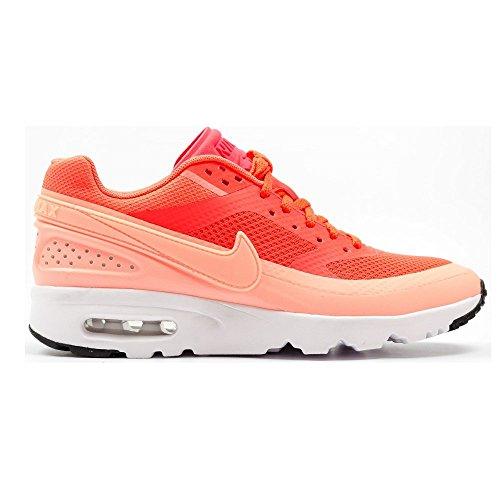 Nike Damen W Air Max BW Ultra Turnschuhe, Orange (Brght Crmsn/ATMC PNK-White-Blk), 39 EU (Nike Frauen Schuhe Orange)