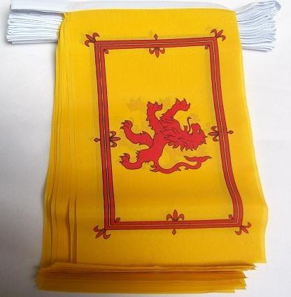 Zehn Top Kostüm - 3M 10Flagge Schottland Lion Rampant Material Wimpelkette