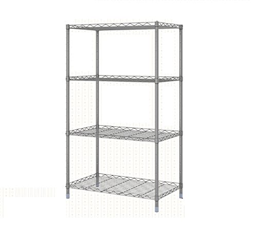 lagute-2-tier-metal-shelving-bookcase-for-home-organisation-office-storage-max-capacity-39lbs-per-sh