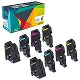 8 Do it Wiser Kompatibel Toner für Dell E525w | 593-BBLN 593-BBLL 593-BBLZ 593-BBLV
