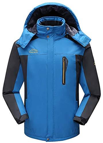 Betrothales Winter Herren Abnehmbare Mit Kapuze Mode Bomberjacke Männer Warm Ntel Jacken 100% Futter Overcoat Casual Outdoor Wander S 7XL...