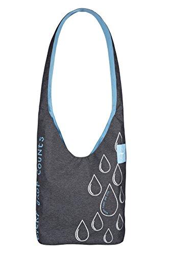 Preisvergleich Produktbild Lässig Einkaufstasche Green Label Charity Shopper Ecoya, anthracite blue mist