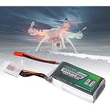 4x 3S 11,1V 1000mAh 20C JST Lipo Auto-Akku für RC Auto Boot Fahrzeug Drohne FPV
