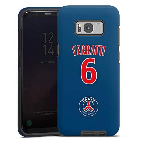 DeinDesign Samsung Galaxy S8 Hülle Tough Case Schutzhülle Paris Saint-Germain PSG Trikot Verratti