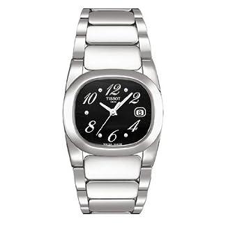 Tissot T0091101105700 – Reloj analógico de cuarzo para mujer con correa de acero inoxidable, color plateado