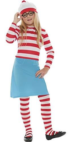 Waldo Kostüm Mädchen - Familie Herren Damen Jungen Mädchen Kinder