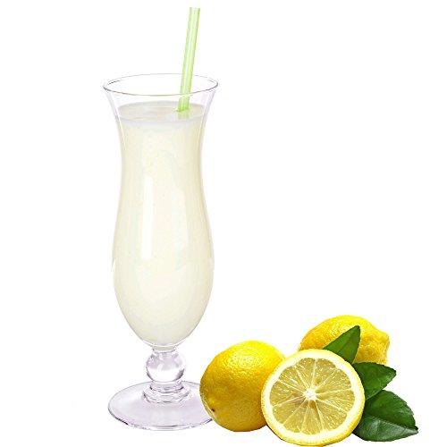Zitrone Geschmack Eiweißpulver Milch Proteinpulver Whey Protein Eiweiß L-Carnitin angereichert Eiweißkonzentrat für Proteinshakes Eiweißshakes Aspartamfrei (200 g)