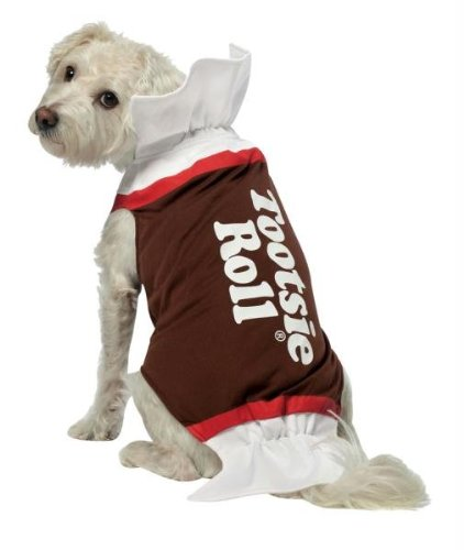 Tootsie Roll Dog Costume -