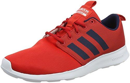 adidas Herren Cloudfoam Swift Racer Laufschuhe, Rot (Core Red/Collegiate Navy/Footwear White 0), 44 EU (Schuhe Red Collegiate)