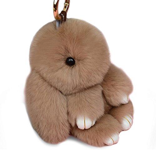 �sselanhänger Geschenke Autoschlüssel Dekoration Plüschspielzeug (Plüsch-kaninchen)
