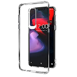 Amazon Brand - Solimo OnePlus 6 Mobile Cover (Soft & Flexible Back Case), Transparent