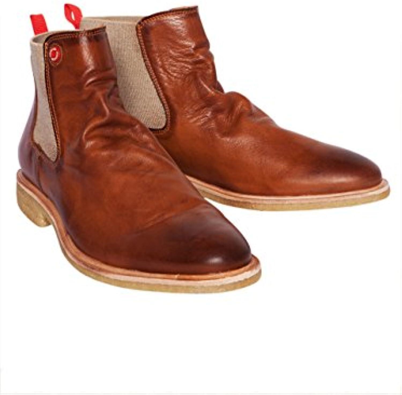 nobrand Herren Chelsea Boots Argan Cinnamon