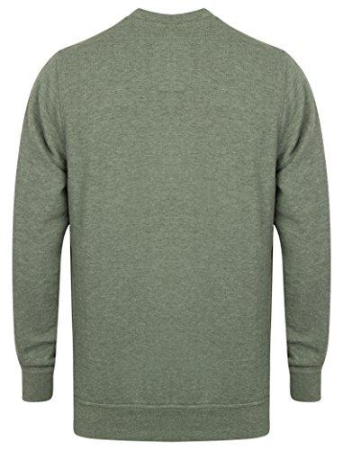 Herren Sweatshirt Tokyo Laundry Pullover Top rundhals freizeit winter mode  neu khaki - 1d9588 ...
