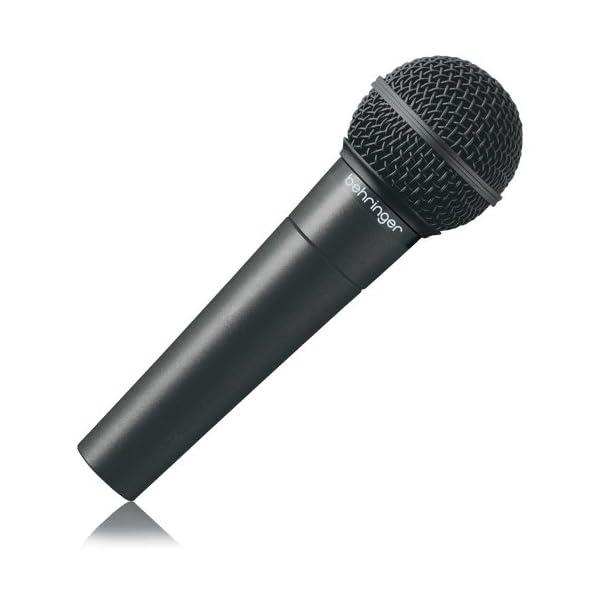 Behringer Ultravoice XM8500 - Microfono vocale dinamico cardioide, nero