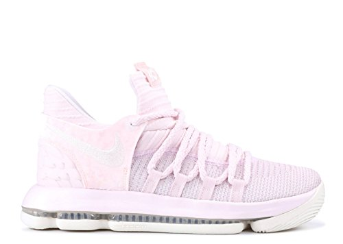 Nike Zoom KD 10 Aunt Pearl Youth AQ4264 601 Pearl/Pink/White (4.5y)