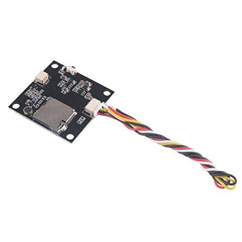 HankerMall FPV DVR Videorekorder-Brett-Video-Ausgangsverzögerungszeit Null Millisekunden-PWB-Leiterplatte schließt FPV-Kamera AV Heraus an Aufnahme für FPV-Renndrohne