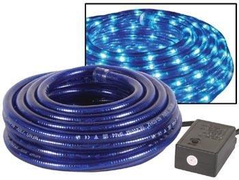 Velleman Flexible lumineux - 2 canaux - 8m - bleu + avec fiche etanche + boite de control