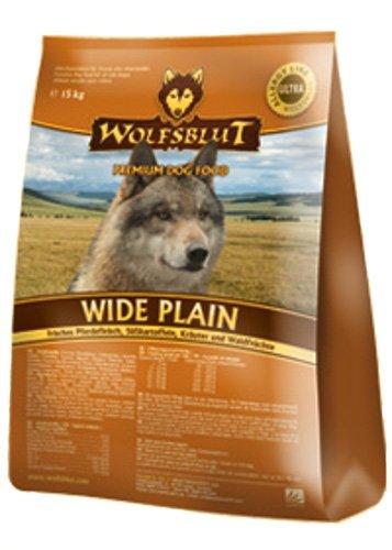 WOLFSBLUT Adult Trockenfutter 15 kg WIDE PLAIN Pferd + SüßKartoffel Adult für Hunde 15,0 kg