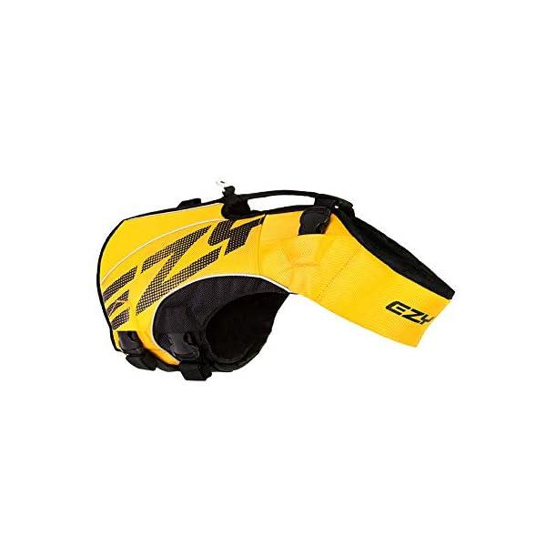 EzyDog X2 Boost Dog Lifejacket (Small, Pink) 1