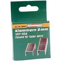 Mannesmann Agrafes de rechange 8mm pour agrafeuse 48410, M48411