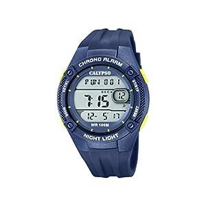 Calypso Watches Reloj Digital para Hombre de Cuarzo con Correa en Plástico