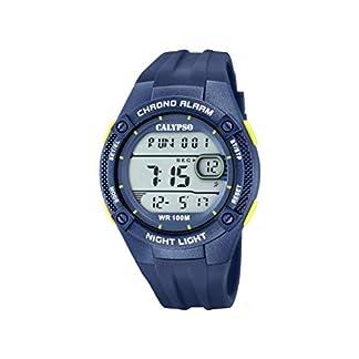 Calypso Watches Reloj Digital para Hombre de Cuarzo con Correa en Plástico K5765/5