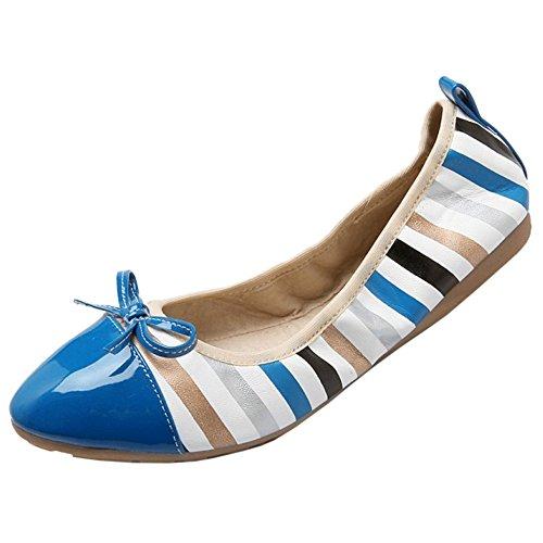 Coolcept Femmes Talons Bas Escarpins blue