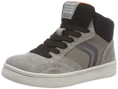 Geox Jungen J DJROCK Boy A Hohe Sneaker, Grau (Grey C1006), 36 EU