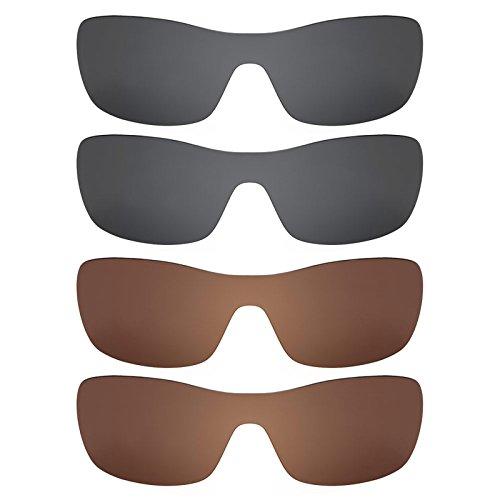 Revant Ersatzlinsen für Oakley Antix Polarisiert 4 Paar Kombipack K023