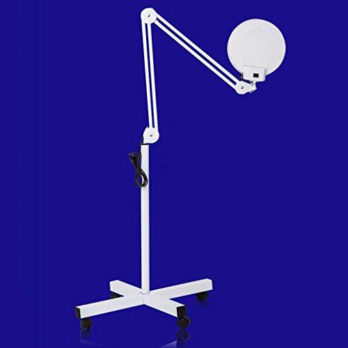 Einstellbare Stehlampe leuchtet für Schönheitssalons, Tattoos, Micro-Level-Beleuchtung, Stehlampen, Augenbrauen, Blendschutz, Lupe, kaltes Licht