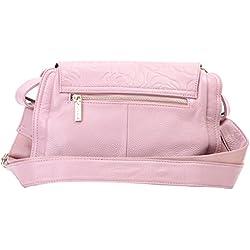 Lederleiter Bolso de Hombro Bolso Bandolera, Bolsos Mujer Cuero Bolso Shopper Callejero Bag De Piel
