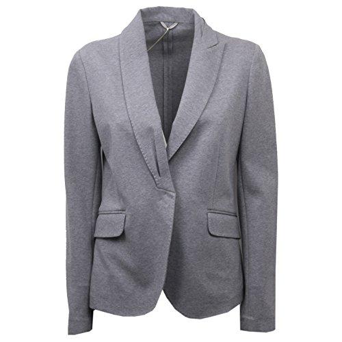 C0286 giacca donna BRUNELLO CUCINELLI grigio jacket woman [44]