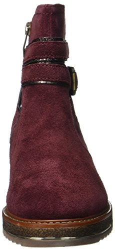 Be Natural Damen 25428 Stiefel Rot (Bordeaux)
