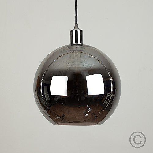 modern-black-metallic-glass-ball-ceiling-pendant-light-shade-with-designer-black-chrome-ceiling-rose