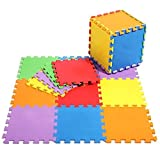 40 SQ FT / 3.68M² / 36 Piece Interlocking Soft Kids Baby EVA Foam Activity Play Mat Floor Tiles *SALE*