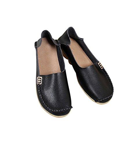 Chaussures à Lacets Bas En Haut Occasionnels Tendon à La Fin Black