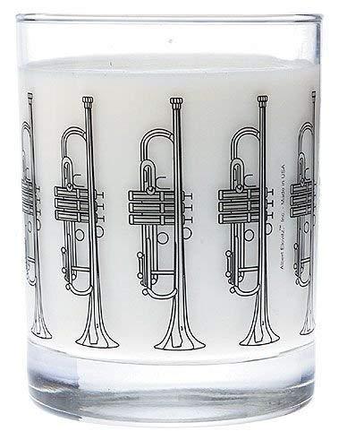 Klar Glas Tumbler Trompete Design Tumbler