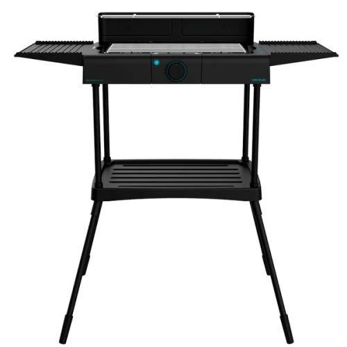 Cecotec Barbacoa eléctrica PerfectSteak 4250 Stand con 2400 W, Parrilla de Acero...