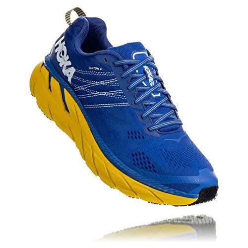 2a06b050b4c05 Hoka Clifton 6, Zapatillas de Running por Hombre, Azul (NebulasBlue/Lemon  NBLM), 44 EU