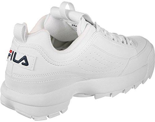 Fila Disruptor Low Calzado White
