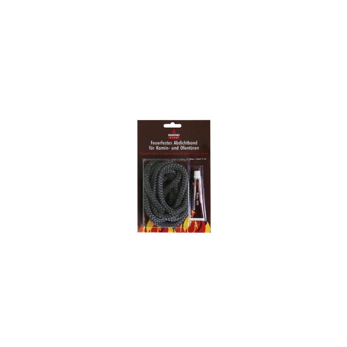 41PXOJBjGML. SS1200  - Kamino-Flam Cristal-Cuerda Antracita Diámetro 10x 2mm pegamento, 333211