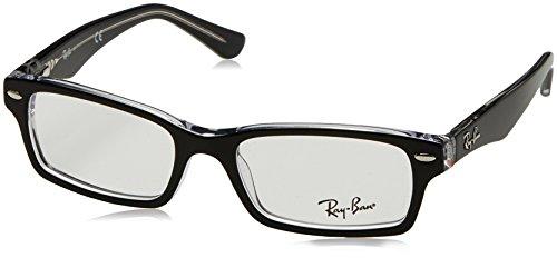 Ray-Ban Junior Mädchen 0ry 1530 3529 48 Brillengestell, Schwarz (Nero),
