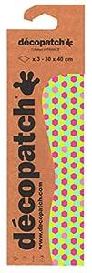 Décopatch - Lote de 3 Hojas Iguales para Pegar