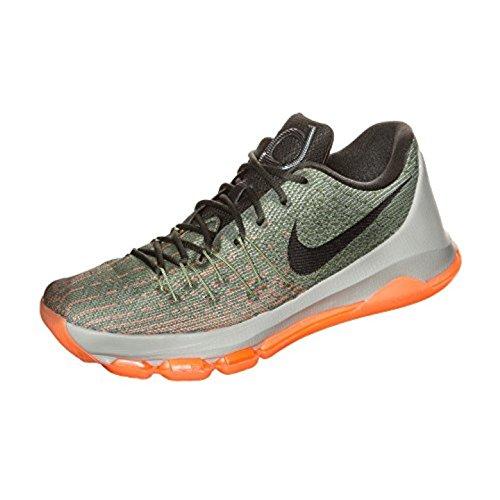 Kd Kinder Nike (Nike Jungen KD 8 (GS) Basketball Turnschuhe, Gris (Lnr Grey/SQ-Allgtr-Brght CTRS), 36 EU)